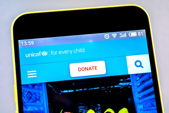 UNICEF accepts BTC and ETH