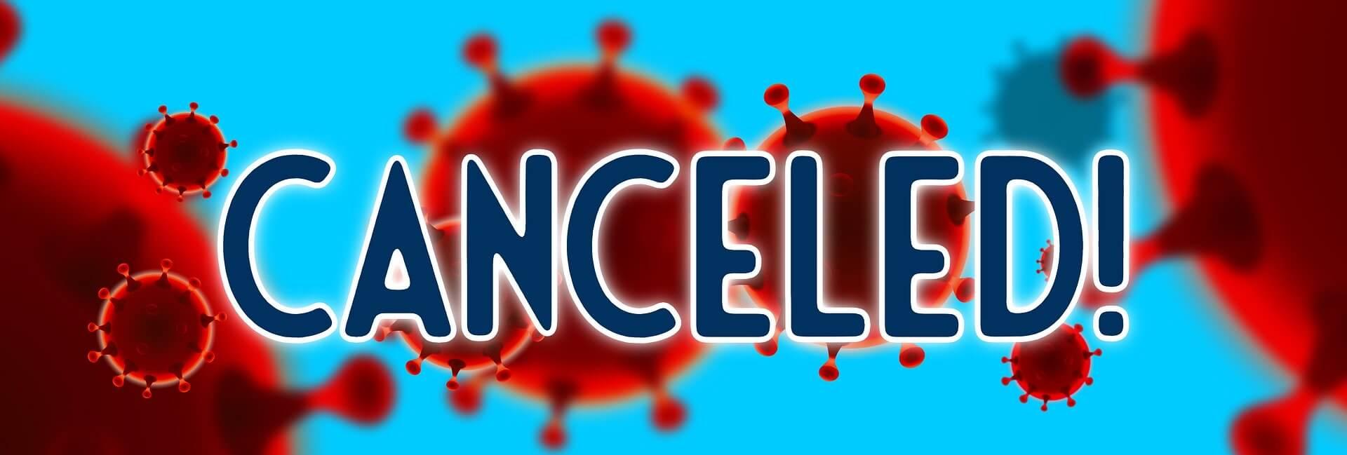 coronavirus blockchain canceled events covid 19