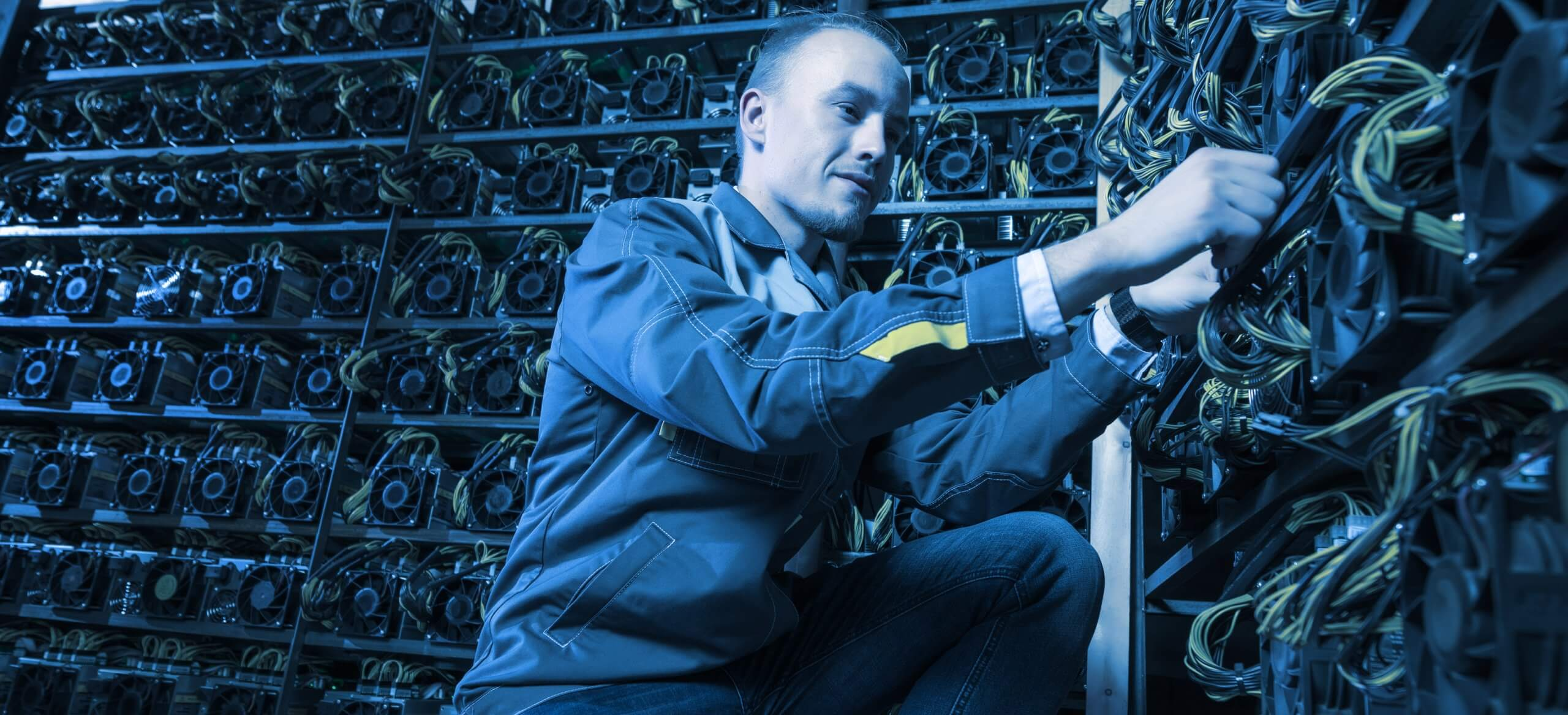 Cryptocurrency miners will soon be relieved