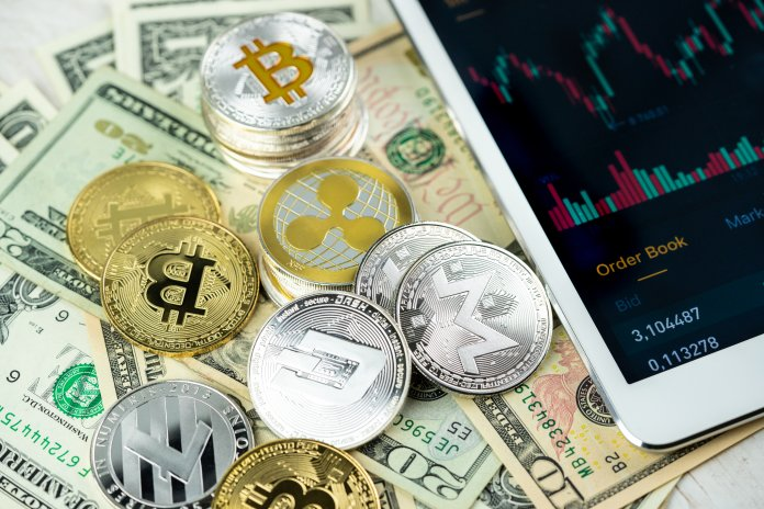 The cryptocurrency market - Bitcoin price grew