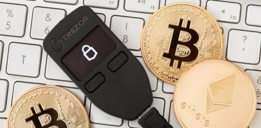 Cryptocurrency wallet - Trezor setup