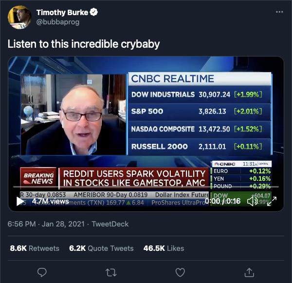 Crash on Wall Street