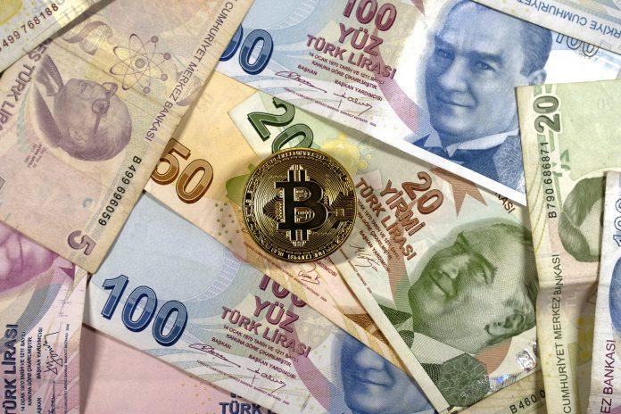 Turkish lira had a fall of 14%, Bitcoin as solution?