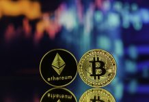 Bitcoin and Ethereum - close to market cap of silver